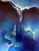 Pure 2 Deep blue..-Acrylic on canvas. 80 x 60 cm. 20.01.2018