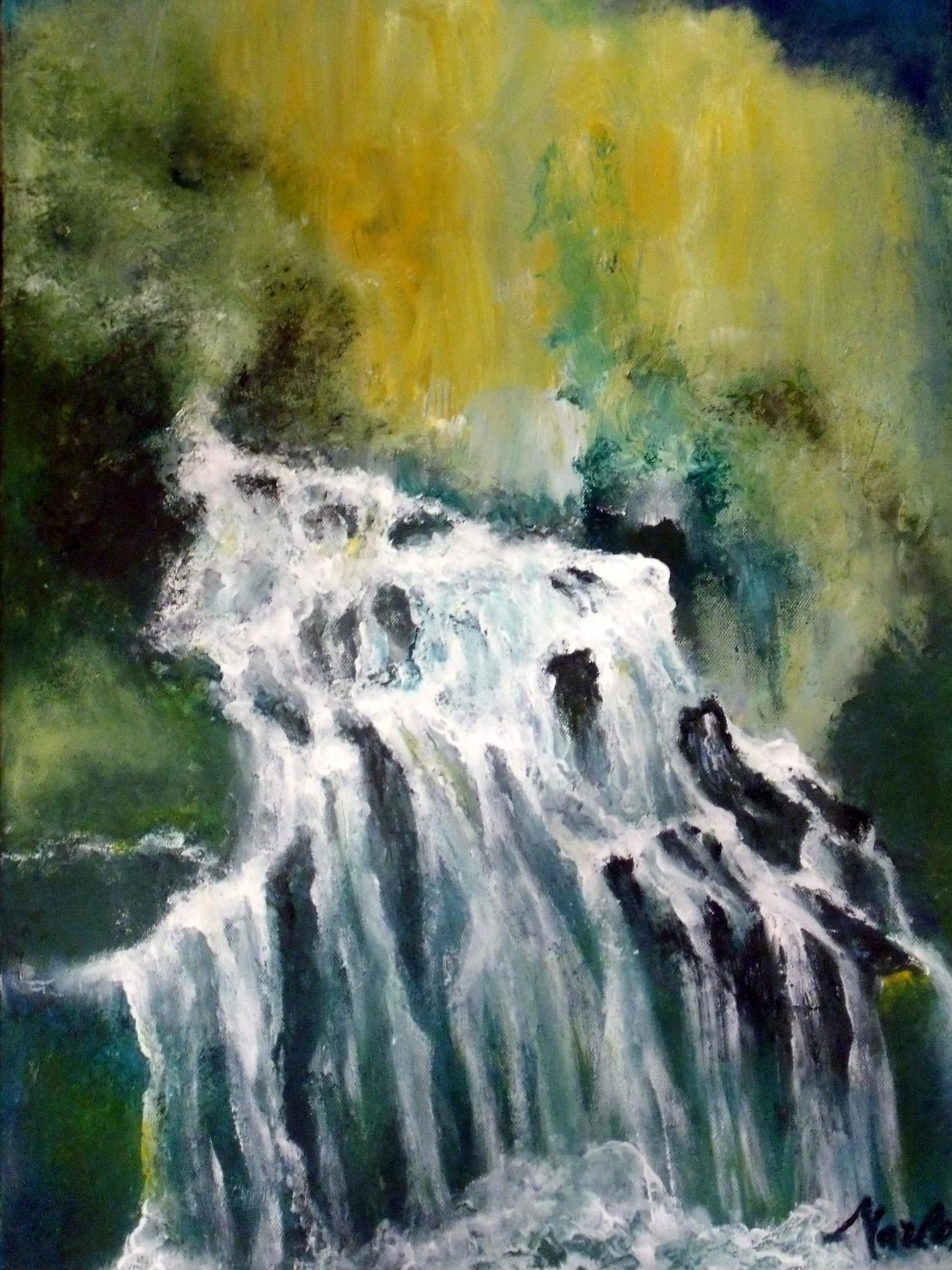 La cascade 70/50 cm Vendu