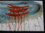 Temple japonais 30/40 cm