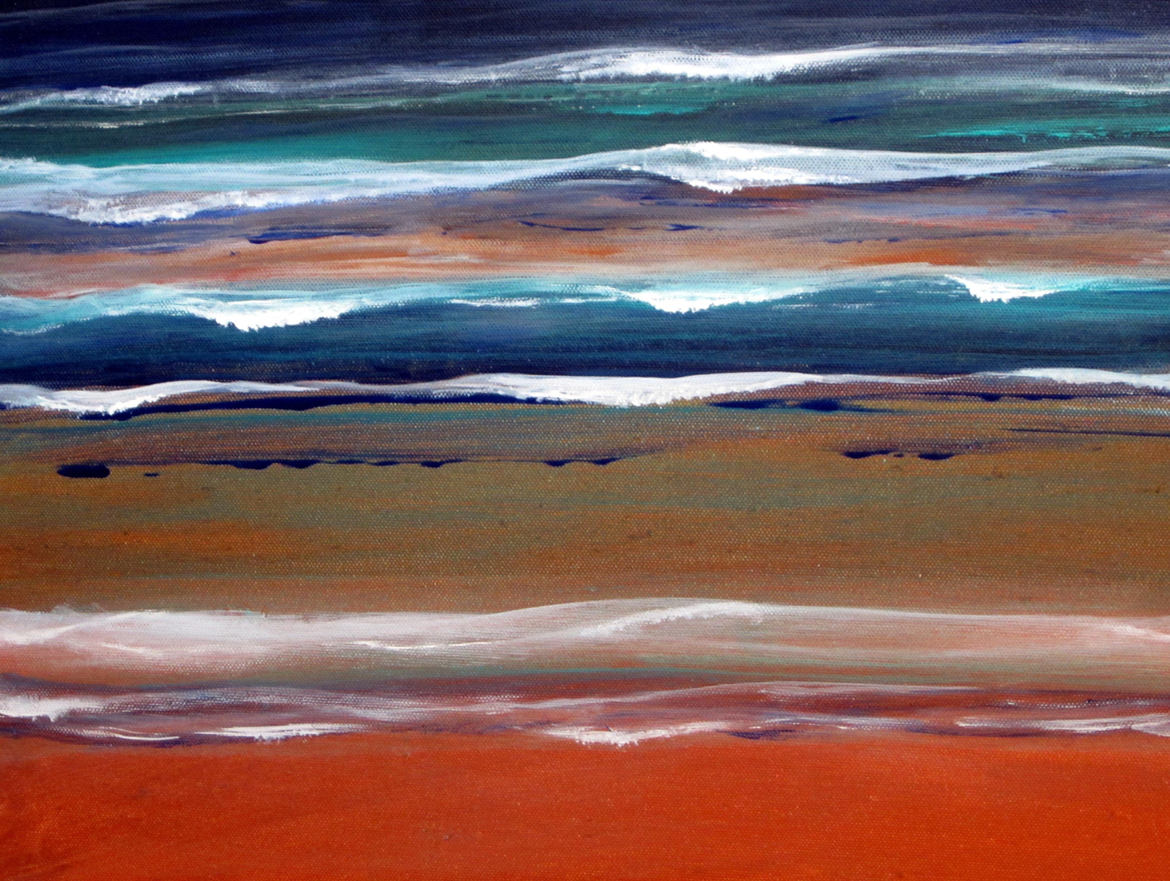 Idée de mer, détail Vendu