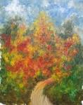 Promenade d'automne 35/45 cm
