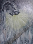 Soirée de pluie,détail Vendu