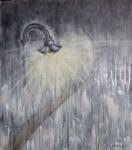 Soirée de pluie 70/60 cm Vendu. 1er Prix tu Texte illustré du Centre Européen pour la Promotion des Arts et des Lettres, Concours international 2011