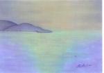 Soir sur la mer 30/40 cm
