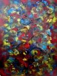 Empreintes. huile/acrylique. 80-60cm. 05.2015