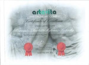 Certificat Artavita
