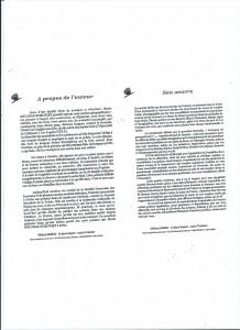 Descriptif recueil et auteur
