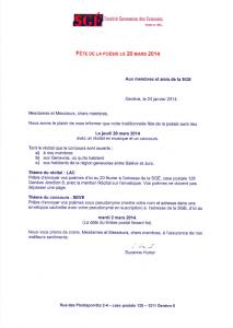 Fête poésie SGE 20.03.14
