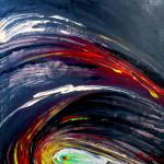 In tornado's whirlpool, Acrylic 60 x 50 cm.09.2011.jpg