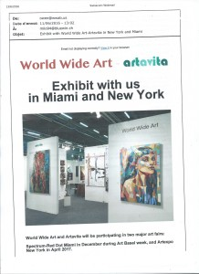 Photo Exhibition Miami New York 2017