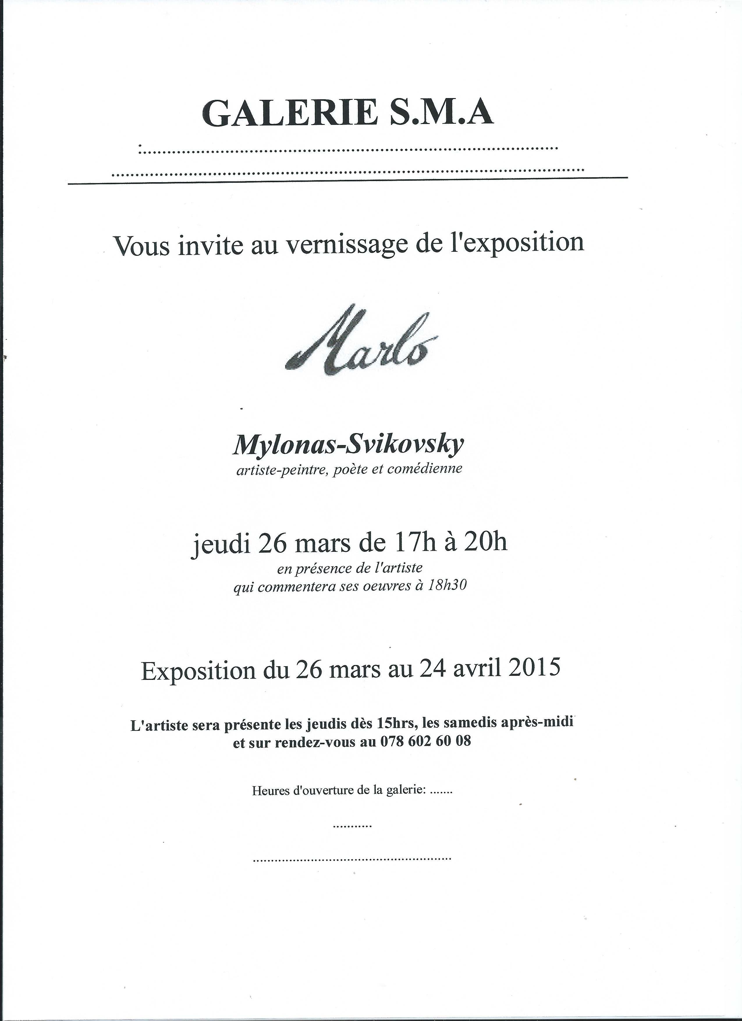 SMA dos invitation