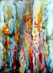 CORONAVIRUS... DEDICATED TO SAVE ... 07.05.2020. Acrylic on canvas. 80 cm H x 60 cm W x 2.5 cm D