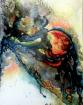 GENESIS ... Indian ink 80 c.m H x 60 cm W x 2 cm D