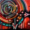 The Coronavirus. 27.03.2020. Acrylic on canvas. 70 cm H x 70 cm W x 2 cm D