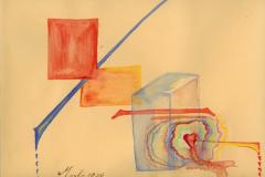 Aquarelles - Abstraits ayant un sens