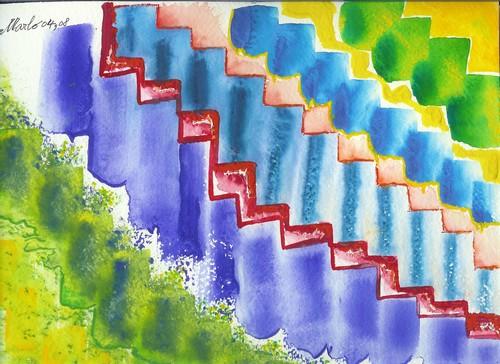 Vibrations ou échelles 24/30cm
