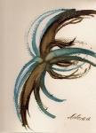 Rappel de mer 24/30 cm aquarelle et encre de Chine