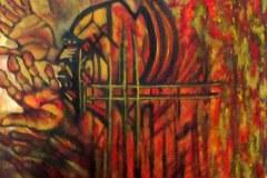 Emotional Action Painting - Peinture d\'Action Emotionnelle - Footprints - Empreintes