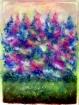 Chatoiements printaniers. Averylique 80 cm x 60 cm .03.2018