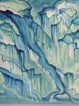 Running waters; Coulée d\'eau, détail