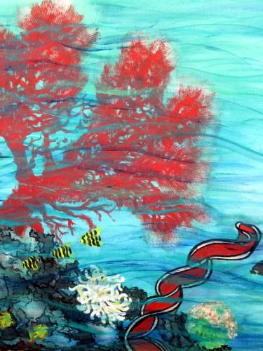 La vie sous marine detail