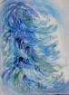 Symphonie en blue 40/30cm