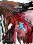 World\'s madness. la folie du monde.10,2013. Acrylique 80/60cm