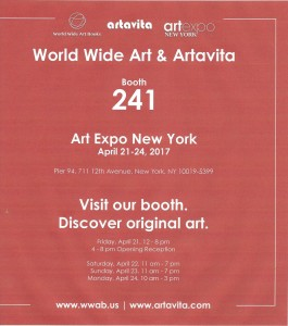Affiche expo N.Y. 2017